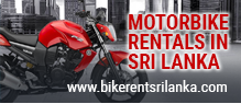 Motorbike Rental in Sri Lanka