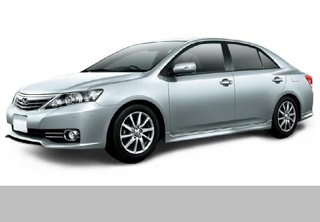 Toyota Allion 260 for Rent at Casons
