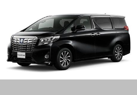 Toyota Alphard Executive Laugh for Rent at Casons