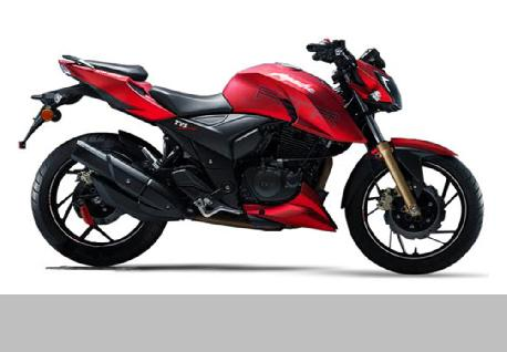 TVS Apache RTR 200 for Rent at Casons