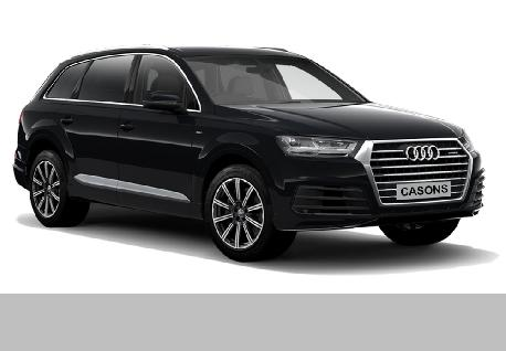 Audi Q7 at Casons Rent A Car