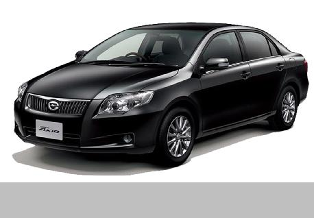 Toyota Axio for Rent at Casons