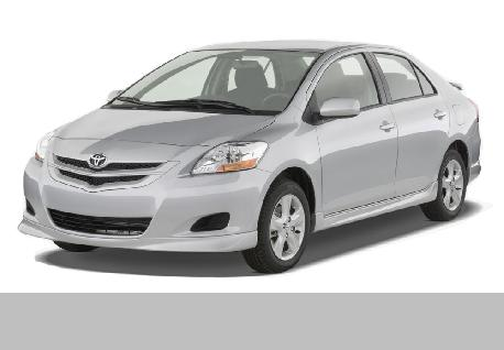 Toyota Belta for Rent at Casons