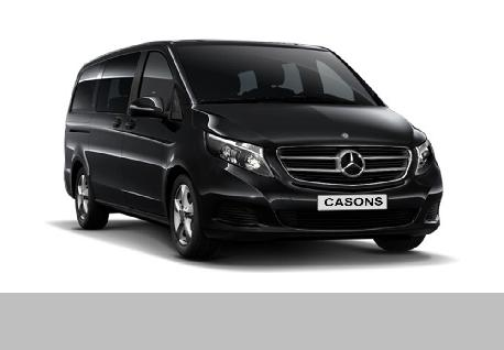 Benz Vito at Casons Rent A Car