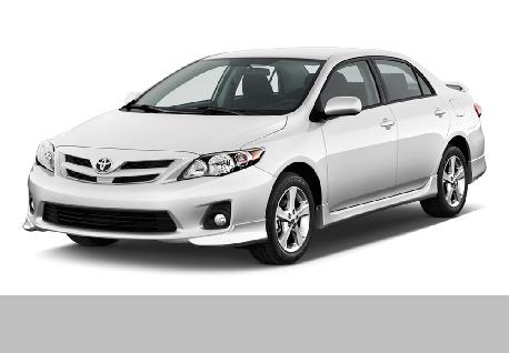 Toyota Corolla 141 for Rent at Casons