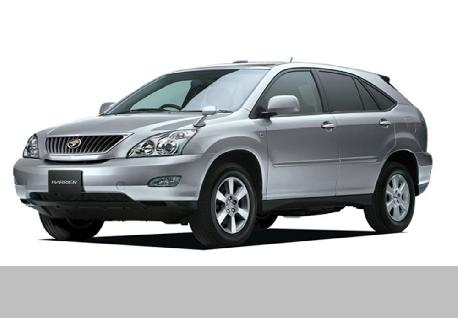 Toyota Harrier for Rent at Casons
