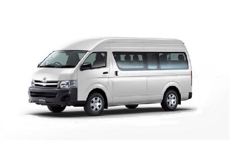 Hiace 15 Seater Van for Rent at Casons