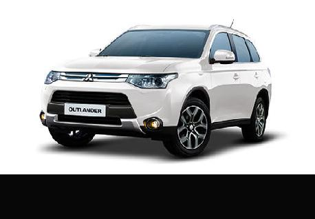 Mitsubishi Outlander PHEV Rentals with Casons