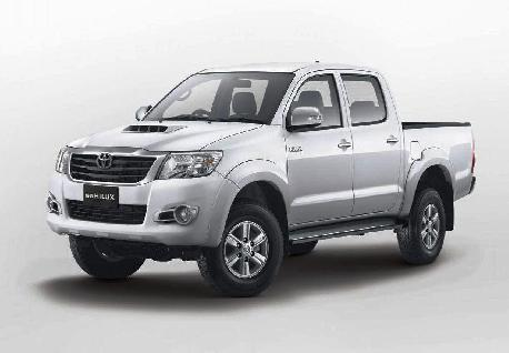 Toyota Hilux Cab to Rent at Casons