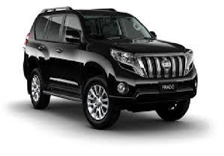 Toyota Prado for Rent at Casons