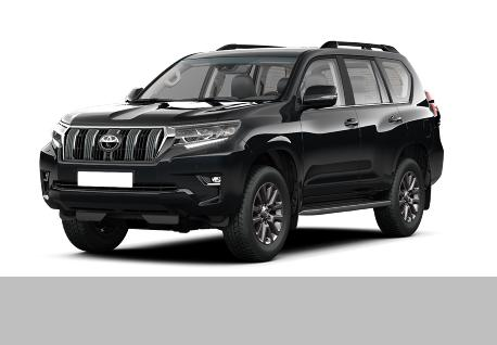Toyota Prado 2019 Face Lifted for Rent at Casons