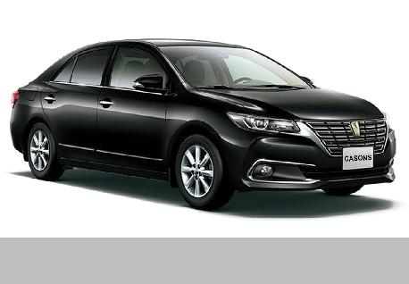 Toyota Premio for Rent at Casons