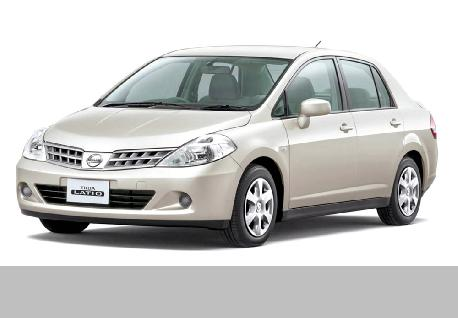 Nissan Tida to Rent at Casons Rent a Car