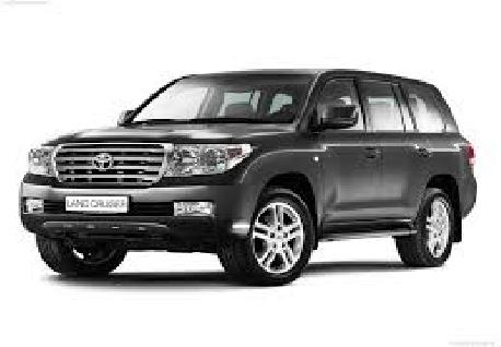 Toyota Land Cruiser Prado for Rent at Casons