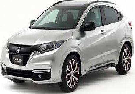 Honda Vezel for Rent at Casons Rent a Car