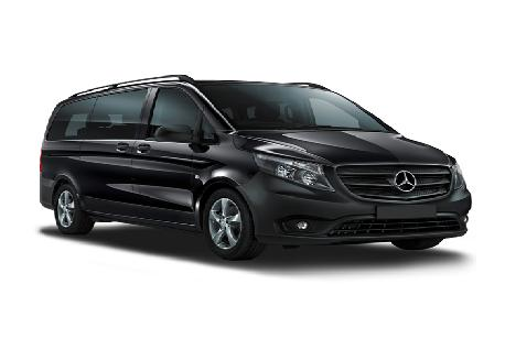 Mercedes Benz Vito rent at Casons