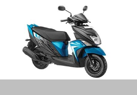 Yamaha ZR Scooter for rent at Casons